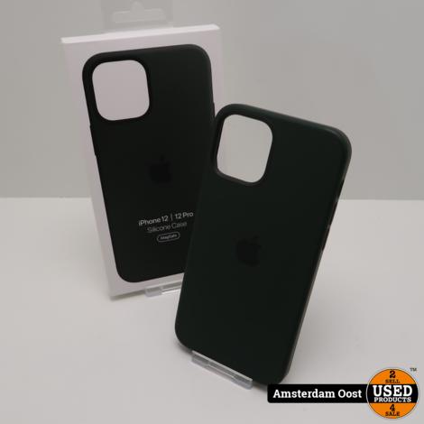 iPhone 12 | 12 Pro Siliconen Hoesje met Magsafe | in Nette Staat