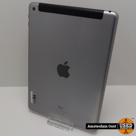 iPad 2018 6th Gen 128GB 4G + Wifi | in Goede Staat