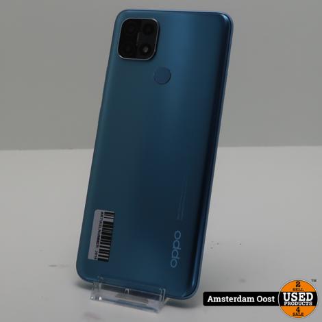 Oppo A15 32GB Dual-Sim Blauw   in Zeer Nette Staat