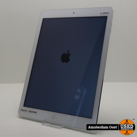 iPad Air 1 16GB Wifi Silver | in Nette Staat