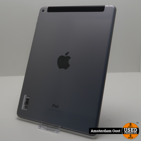 iPad Air 2 16GB 4G + Wifi Space Gray   in Prima Staat