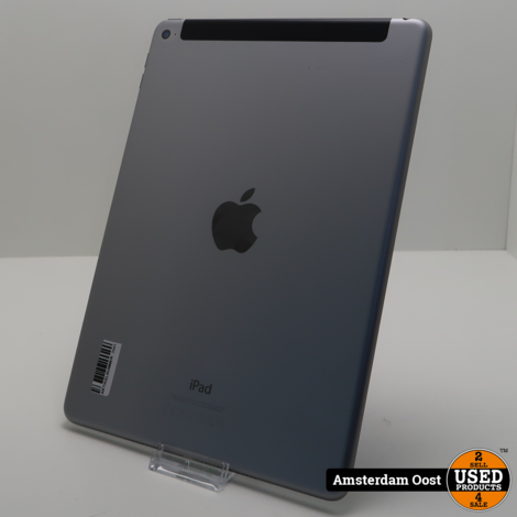 iPad Air 2 16GB 4G+Wifi Space Gray | in Prima Staat