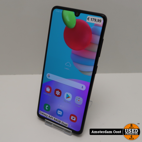 Samsung Galaxy A41 64GB Dual-Sim Black | in Nette Staat