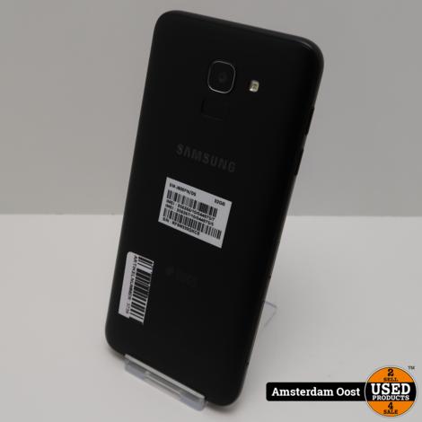 Samsung Galaxy J6 32GB Dual Black | in Nette Staat