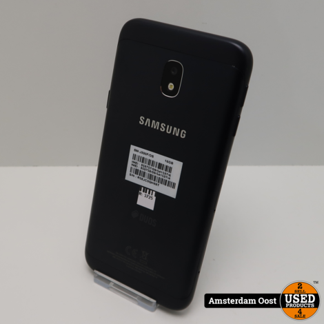 Samsung Galaxy J3 2017 16GB Dual Black   in Nette Staat
