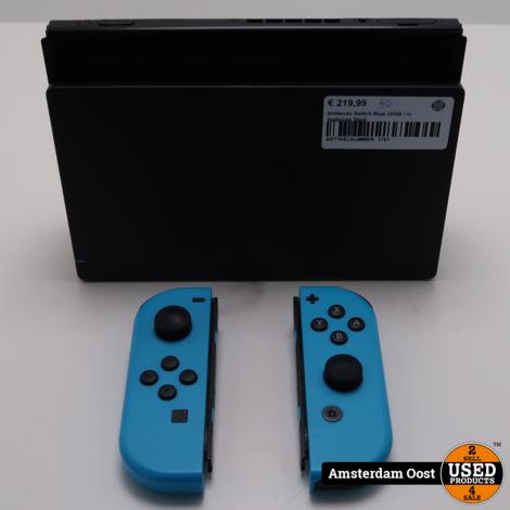 Nintendo Switch Blue 32GB | in Redelijke Staat