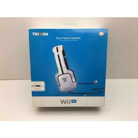 Tritton Kunai Stereo Headset (White) Wii U
