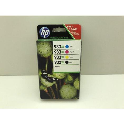 Inkt Cartridge HP 932XL / 933XL (C2P42AE) Inktcartridge 4 Pack