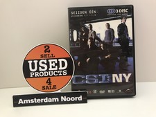 DVD: CSI New York Seizoen 1 (Afl. 1-12)