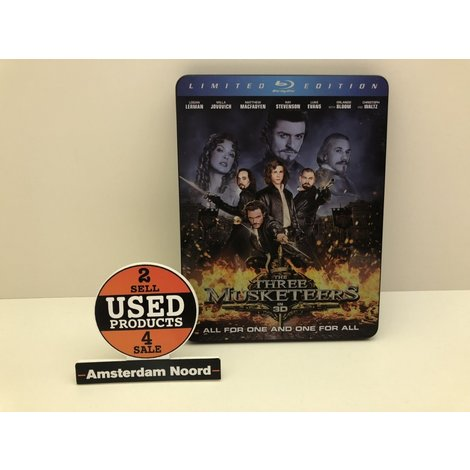 3D Bluray: The Three Musketeers