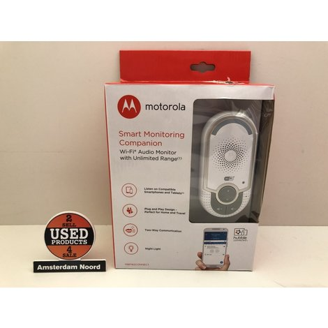 Motorola MBP 162  Wifi Connect Babyfoon(NIEUW)