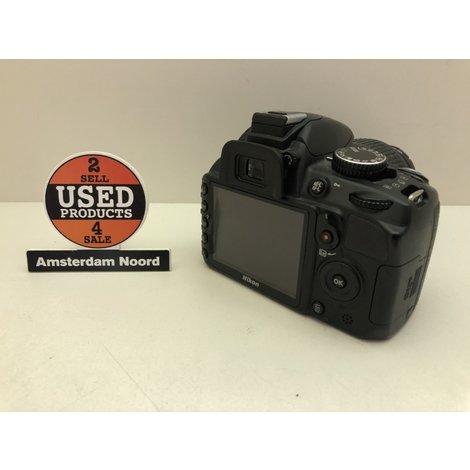 Nikon D3100 + 18-55mm camera