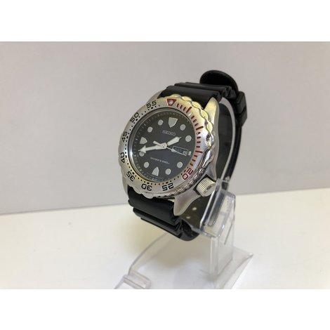 Seiko 7N36-6A40 Sapphlex Scuba Divers Quartz Watch - 200m