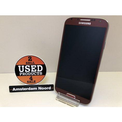 Samsung Galaxy S4 Rood