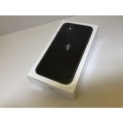 Apple iPhone 11 64GB Zwart (Nieuw+Bon)