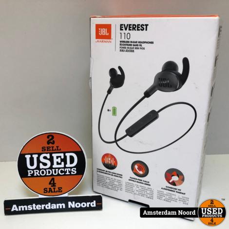 JBL Everest 110 Bluetooth Oordopjes (Zwart)