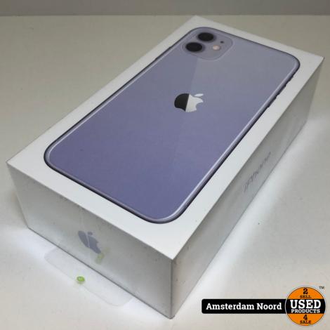 Apple iPhone 11 64GB Purple (Nieuw)