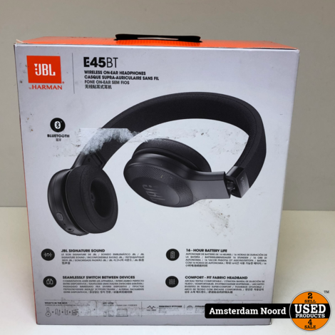JBL E45BT Bluetooth koptelefoon