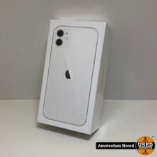 Apple Apple iPhone 11 64GB Wit (Nieuw+Bon)