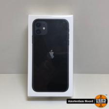 Apple Apple iPhone 11 64GB Zwart (Nieuw)