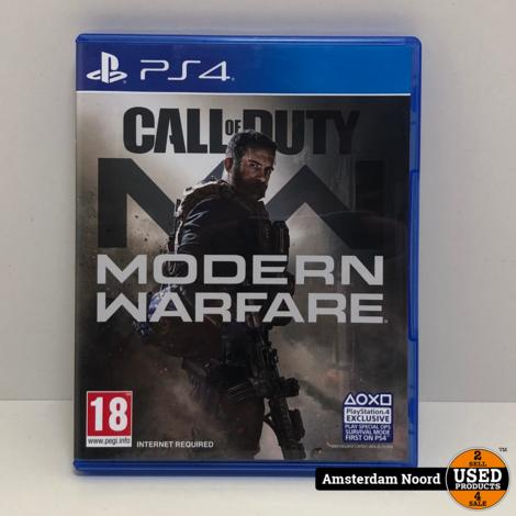 PS4: Modern Warfare