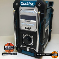 Makita Makita DMR112 DAB+  Bluetooth Bouwradio