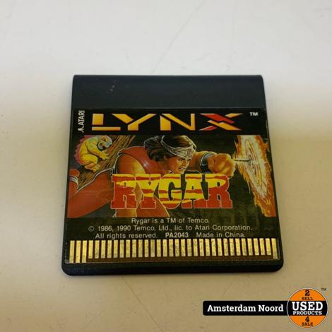 Atari Lynx: Rygar