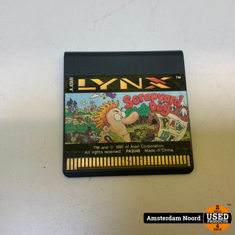 Atari Lynx: Scrapyard Dog