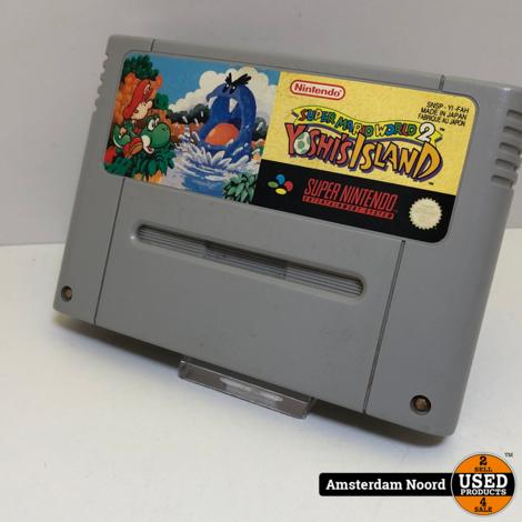 SNES Super Mario World 2 Yoshi's Island