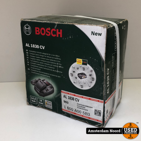 Bosch AL1830CV Acculader
