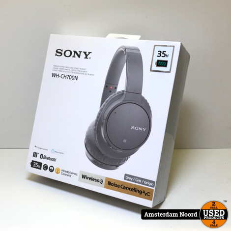 Sony WH-CH700N Wireless Noise Cancelling Headset (Nieuw)