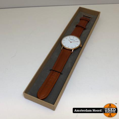 Prisma Herenhorloge P1621 Lederen band (Nieuw)