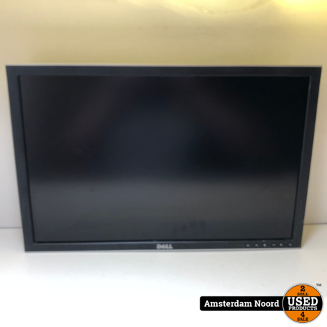 Dell UltraSharp 2408WFP HDMI Monitor Zwart