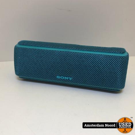 Sony SRS-XB21 Bluetooth Speaker Blauw