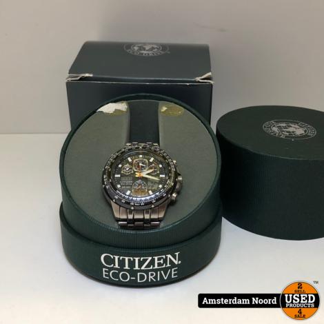 Citizen Promaster Eco Drive CTZ-A8120 Horloge