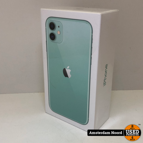 Apple iPhone 11 256GB Green (Nieuw)