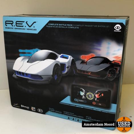 R.E.V. Robotic Enhanced Vehicles + 2 Smart Vehicles