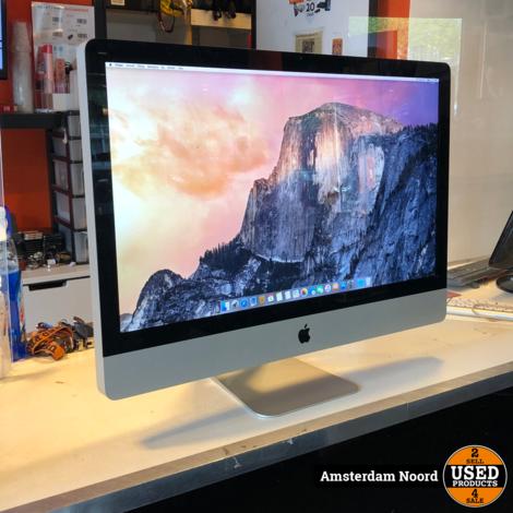 Apple iMac 27-inch 2009 IC2D/4GB/1TB/OSYosemite