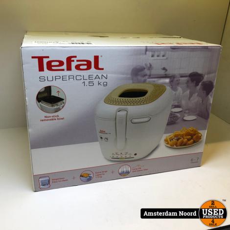 Tefal Superclean F37-R Frituurpan (Nieuwstaat)