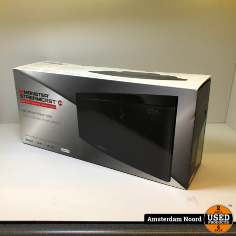 Monster StreamCast S3 Medium Draadloze Speaker