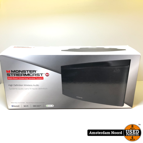 Monster StreamCast S3 Draadloze Speaker