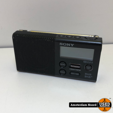 Sony XDR-P1DBP DAB+ Radio