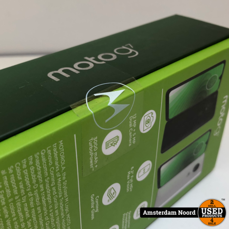 Motorola Moto G7 Clear White (Nieuw)