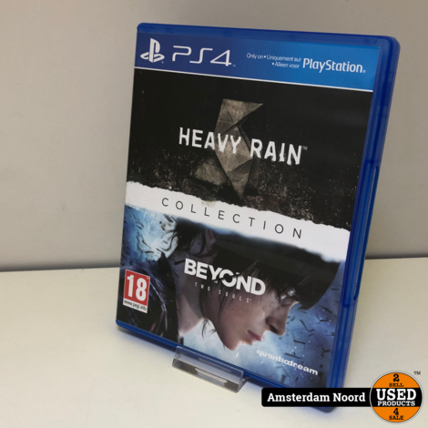 PS4 Heavy Rain Collection Beyond Two Souls