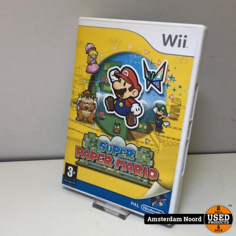 Nintendo Wii Super Mario Paper