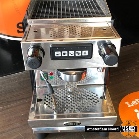 Boretti Barista + Boretti BAC135 Molino Automatische Koffiemolen + Boretti BAC73 Afkloplade