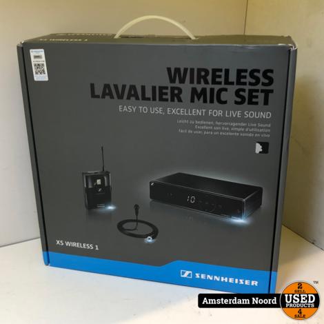 Sennheiser XS Wireless 1-ME2  Microfoon (Nieuwstaat)