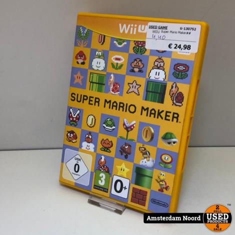 Nintendo Wii U: Super Mario Maker