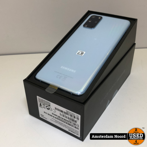 Samsung Galaxy S20+ 5G 128GB Cloud Blue (Nieuw+Bon)