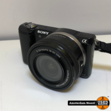 Sony Sony Alpha A5000 ICL systeemcamera Zwart + 16-50mm OSS